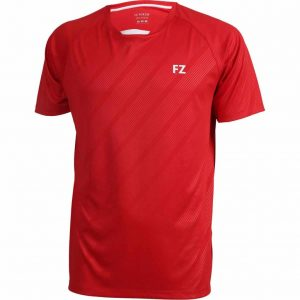 Tricou badminton copii Hector t-shirt red